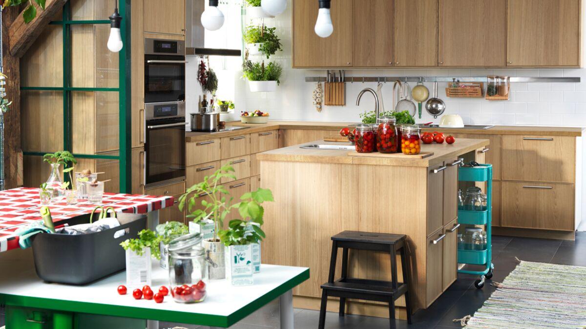 Prix Cuisine Ikea Sans Electromenager le top des cuisines tendance : femme actuelle le mag