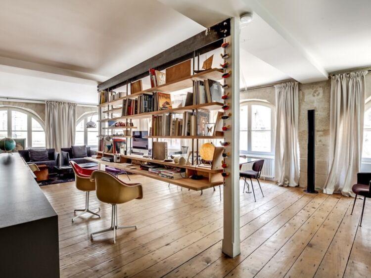 Bureau de salon awesome appartement barcelone meuble salon avec