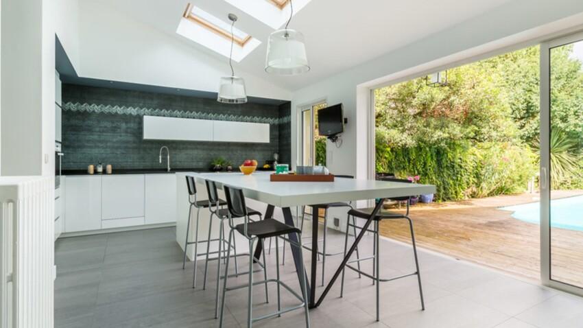 16 idées pour une cuisine en communion avec l'extérieur
