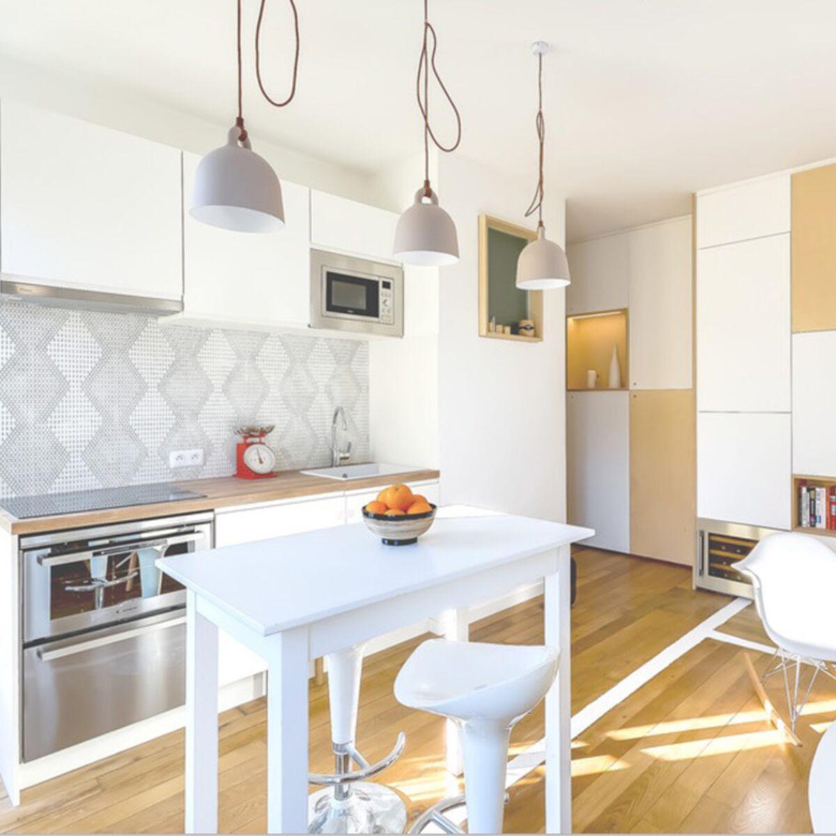 19 idées déco pour égayer une cuisine blanche : Femme Actuelle Le MAG
