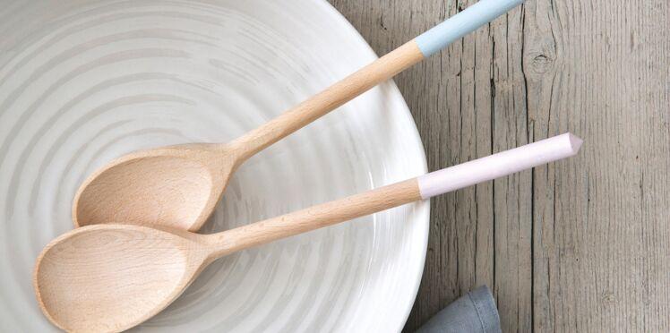 3 créas en mode pastel : des cuillères fantaisie