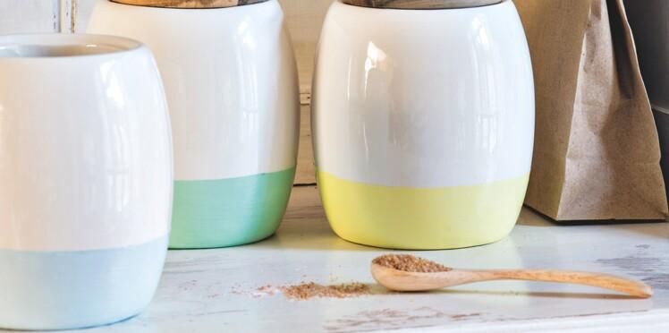 3 créas en mode pastel : des pots stabilotés