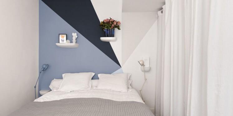 8 jeux de peinture murale pour dynamiser la chambre : Femme ...