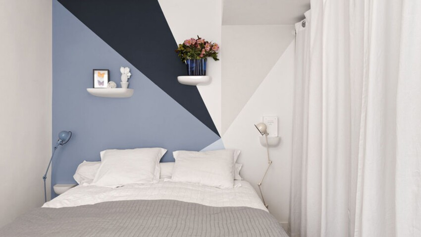 8 jeux de peinture murale pour dynamiser la chambre : Femme