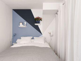 8 jeux de peinture murale pour dynamiser la chambre
