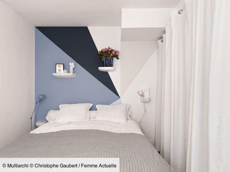 8 Jeux De Peinture Murale Pour Dynamiser La Chambre Femme