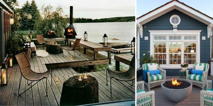 9 aménagements pour prolonger les soirées sur sa terrasse : Femme ...