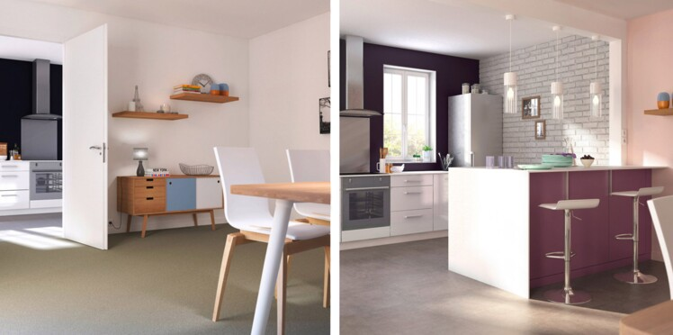 Avant/Après : deux solutions pour aménager votre cuisine : Femme ...