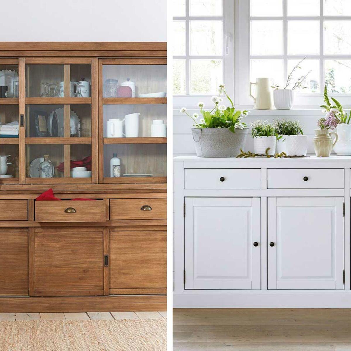 Buffet de cuisine ou vaisselier : comment choisir ? : Femme