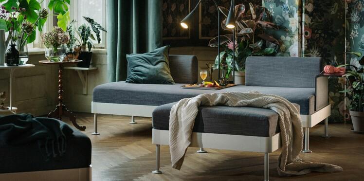 Canapé IKEA : un modèle modulable signé Tom Dixon