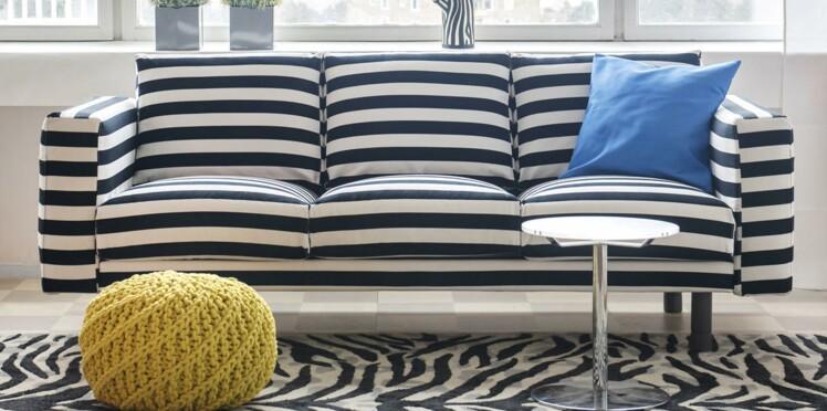 Canapé IKEA : une nouvelle housse pour une touche design