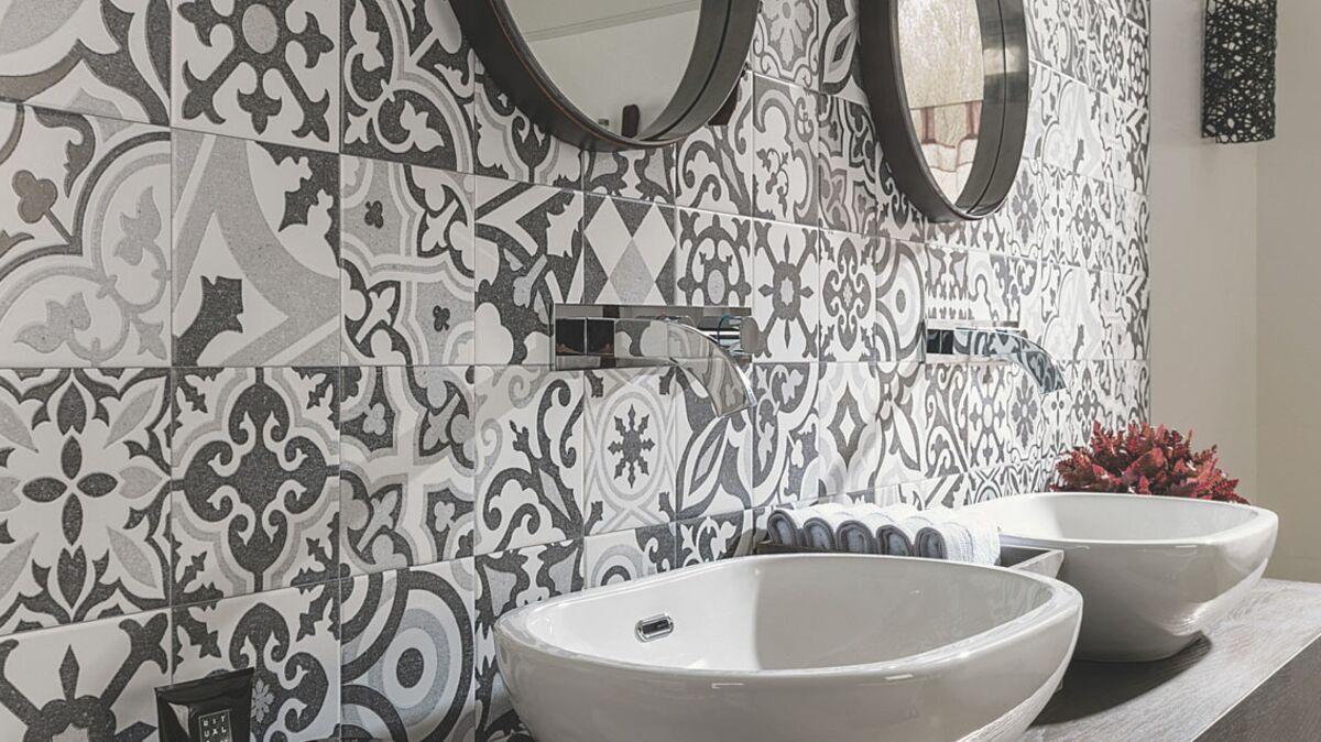 Carrelage : les nouveautés pour la salle de bains : Femme Actuelle
