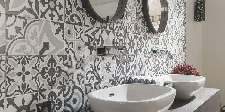 Carrelage : les nouveautés pour la salle de bains