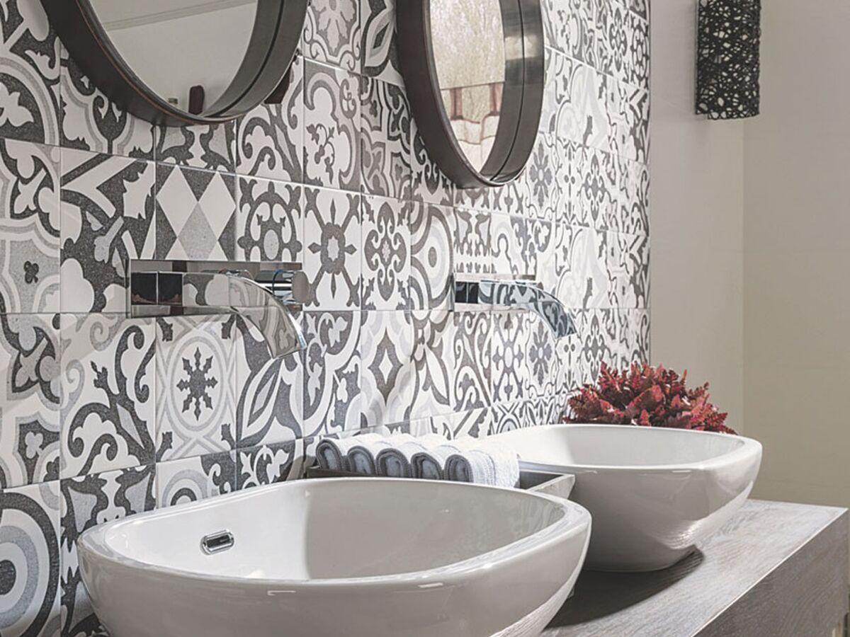 Recouvrir Carrelage En Relief carrelage : les nouveautés pour la salle de bains : femme