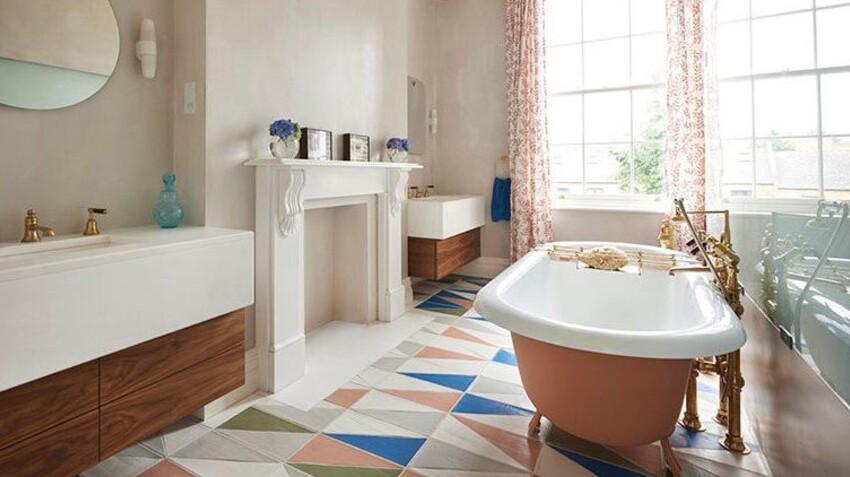 Carrelage de salle de bains : 8 idées de sol inspirants