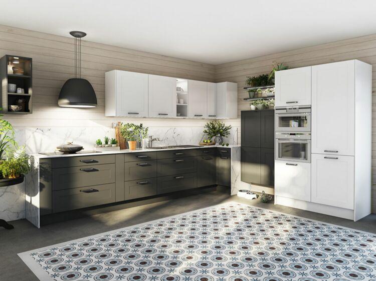 Carrelage stratifi vinyle quel sol pour ma cuisine femme actuelle le mag - Image carrelage cuisine ...