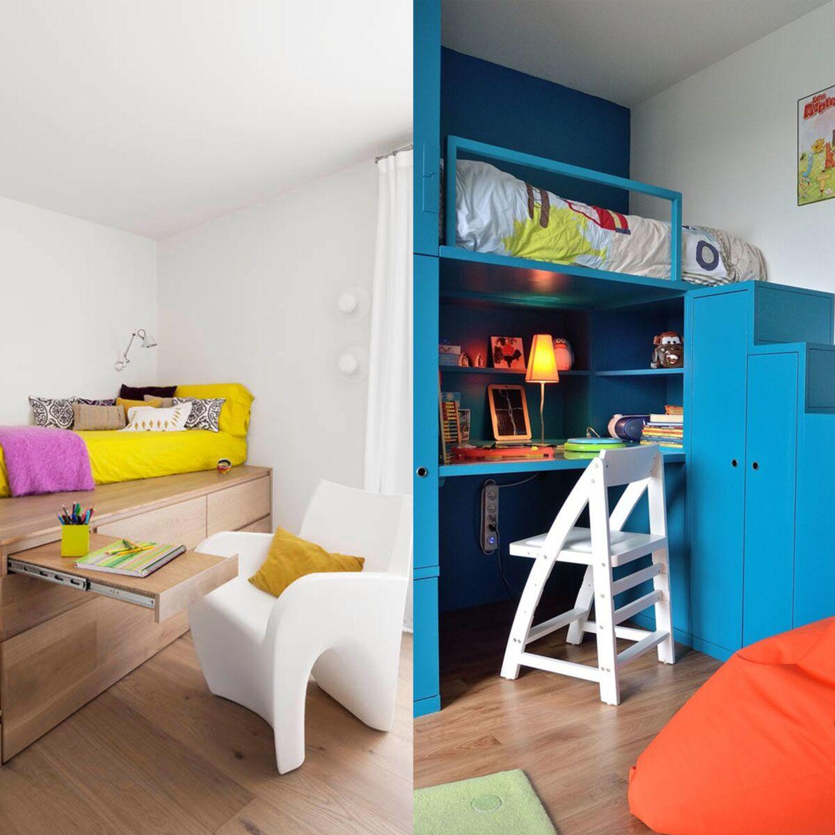 Deco Petite Chambre Enfant chambre d'enfant : 12 astuces pour optimiser les petits