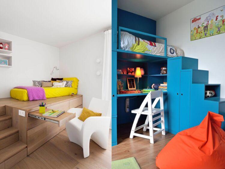 Chambre d enfant astuces pour optimiser les petits espaces