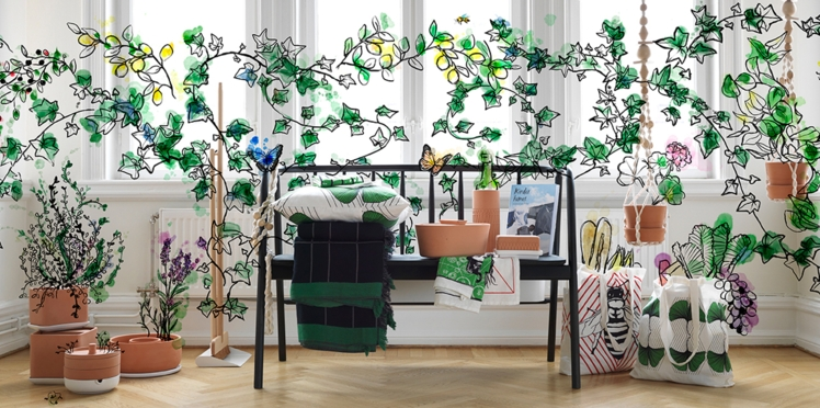 Collection écolo chez IKEA
