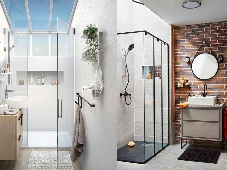Comment Aménager Une Douche Dans Une Petite Salle De Bains ? : Femme  Actuelle Le MAG