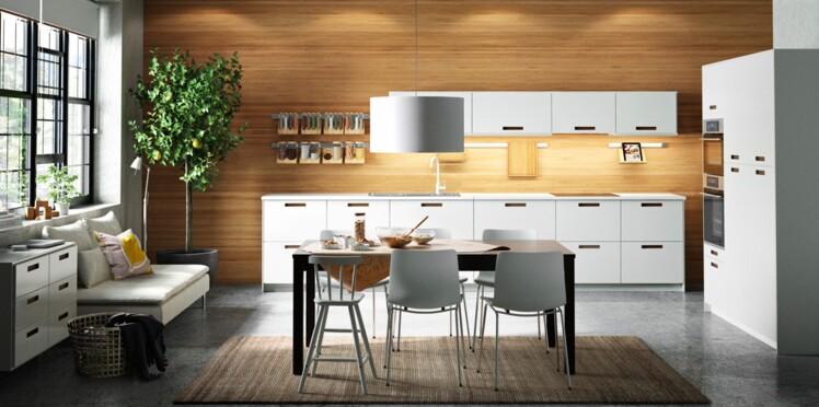 cuisine am ricaine cuisine ouverte tout savoir avant d oser femme actuelle le mag. Black Bedroom Furniture Sets. Home Design Ideas