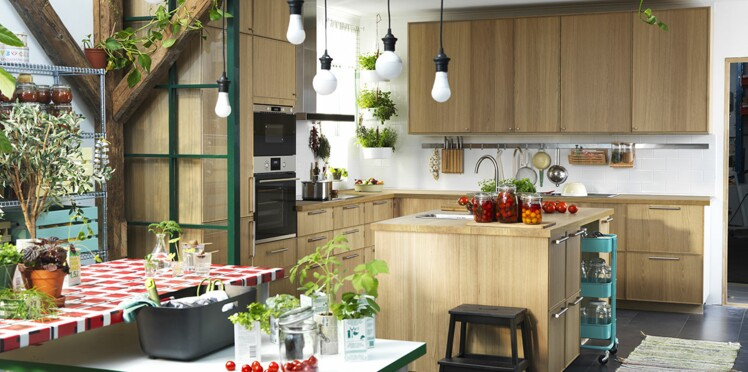 Cuisines Ikea Nos Idées Préférées Femme Actuelle Le Mag