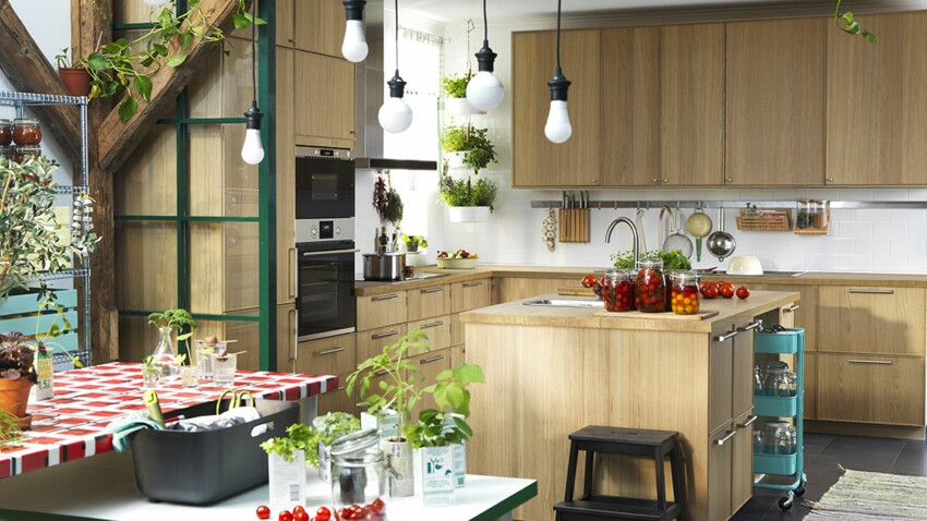 Cuisines Ikea Nos Idees Preferees Femme Actuelle Le Mag