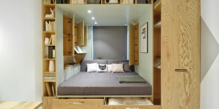 Déco de chambre : 10 idées de lits avec rangements intégrés