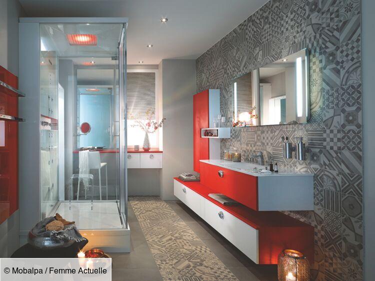Déco de salle de bains : les idées tendances : Femme ...