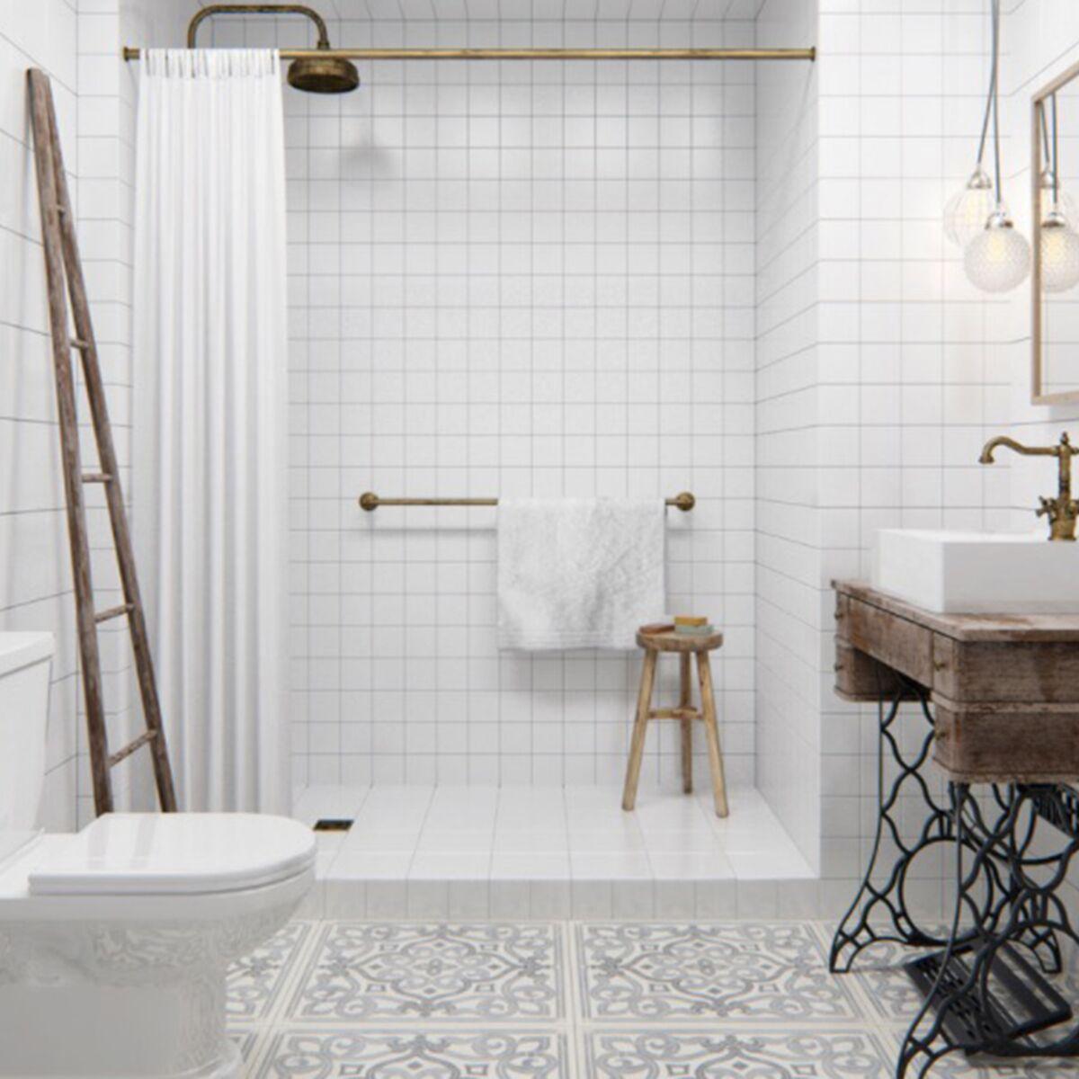 Detourner Un Meuble Pour Salle De Bain déco de salle de bains : 10 meubles anciens détournés en