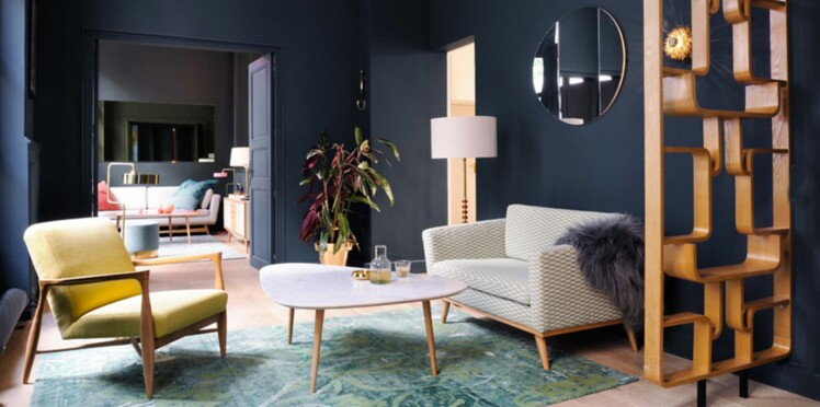 D co de salon 11 id es en couleur femme actuelle le mag for Decoration salon sejour tendance