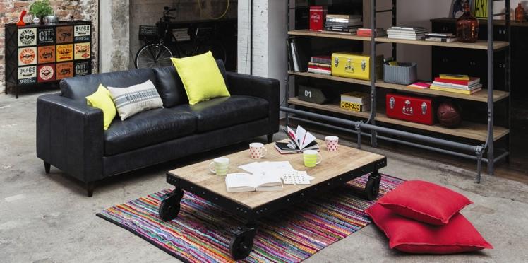 la verri re d int rieur la touche d co industrielle. Black Bedroom Furniture Sets. Home Design Ideas
