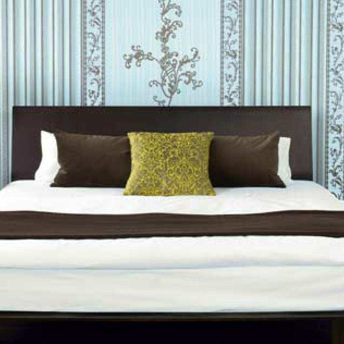 Décorer Sa Chambre Pour Pas Cher ma chambre : un nid d'amour tendance et zen : femme actuelle