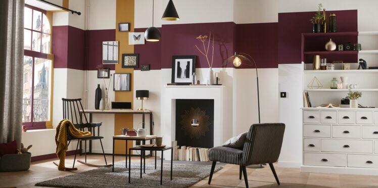 Décoration de salon : 5 astuces peinture pour réchauffer l'ambiance