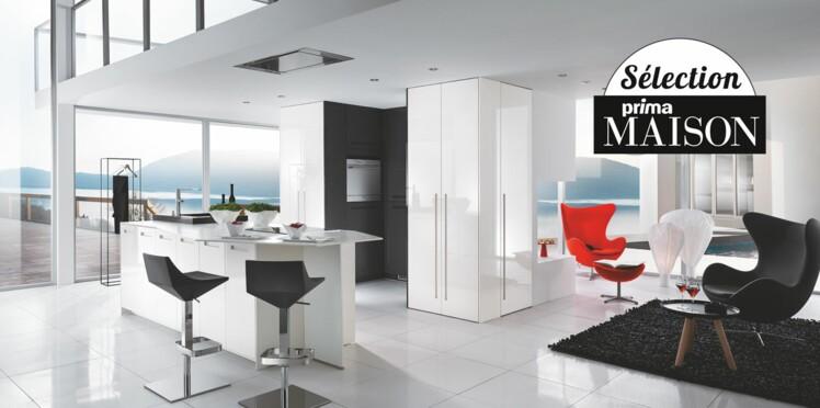 Design, la cuisine blanche