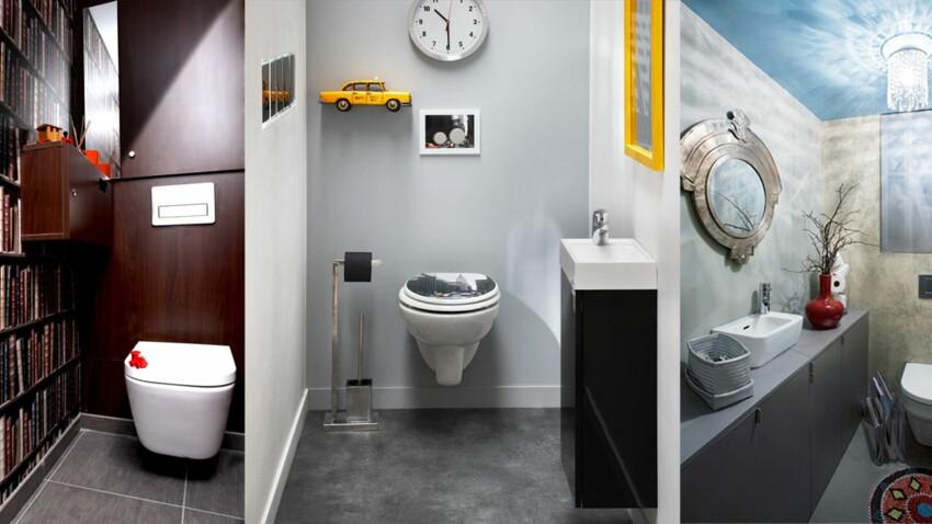 Design, zen, rigolo, décorez vos toilettes !