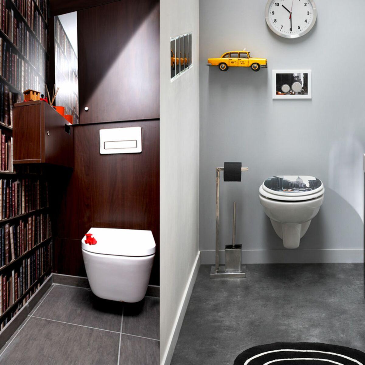Comment Decorer Les Wc design, zen, rigolo, décorez vos toilettes ! : femme