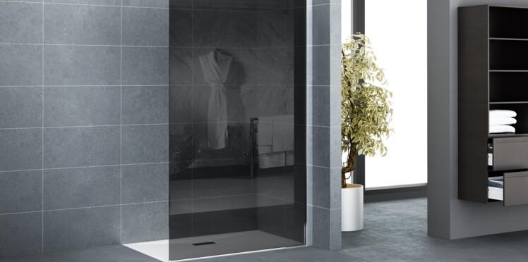 douche l italienne le r ve accessible femme actuelle. Black Bedroom Furniture Sets. Home Design Ideas