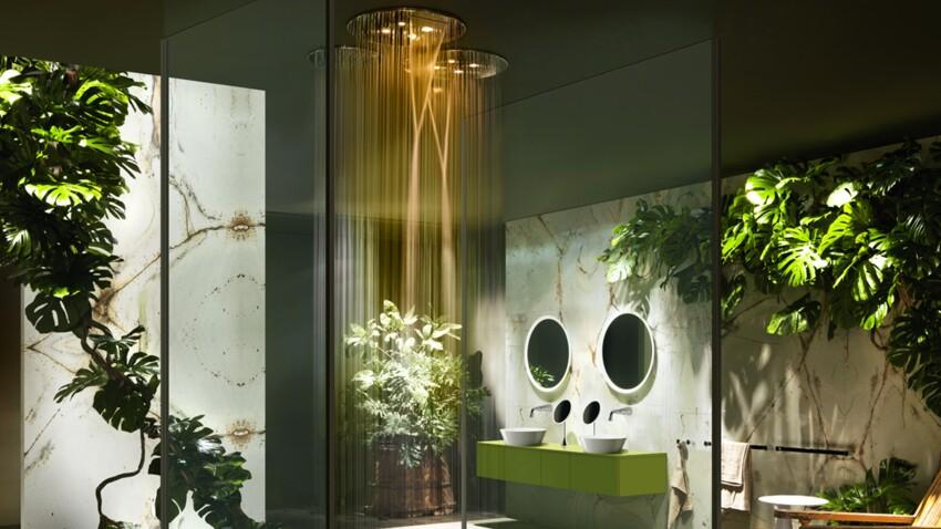Hydromassante, lumineuse, design : les nouvelles douches !