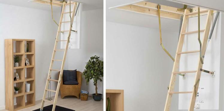 Escalier escamotable, comment ça marche ?