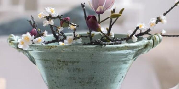 Les fleurs artificielles, c'est très décoratif