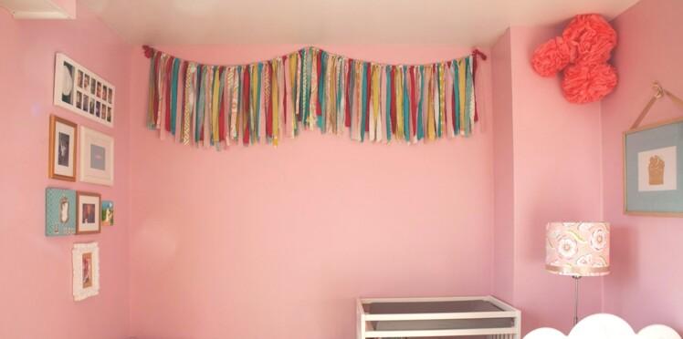 Idées déco pour une chambre de petite fille
