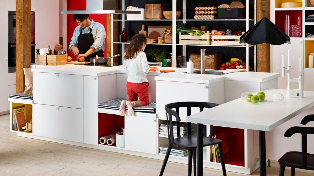 Creer Un Ilot Central De Cuisine un ilot central pour ma cuisine, les conseils d'ikea : femme