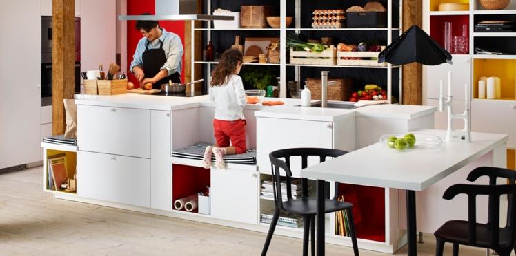 Un ilot central pour ma cuisine, les conseils d'IKEA
