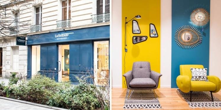 La Redoute Intérieurs vient d'ouvrir une boutique à Paris