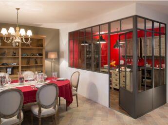 10 idées pour aménager sa cuisine avec une verrière atelier : Femme ...