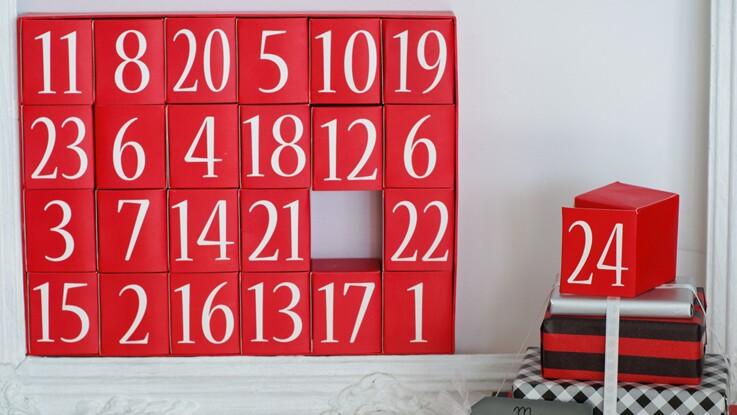 vid o le top des calendriers de l avent originaux. Black Bedroom Furniture Sets. Home Design Ideas