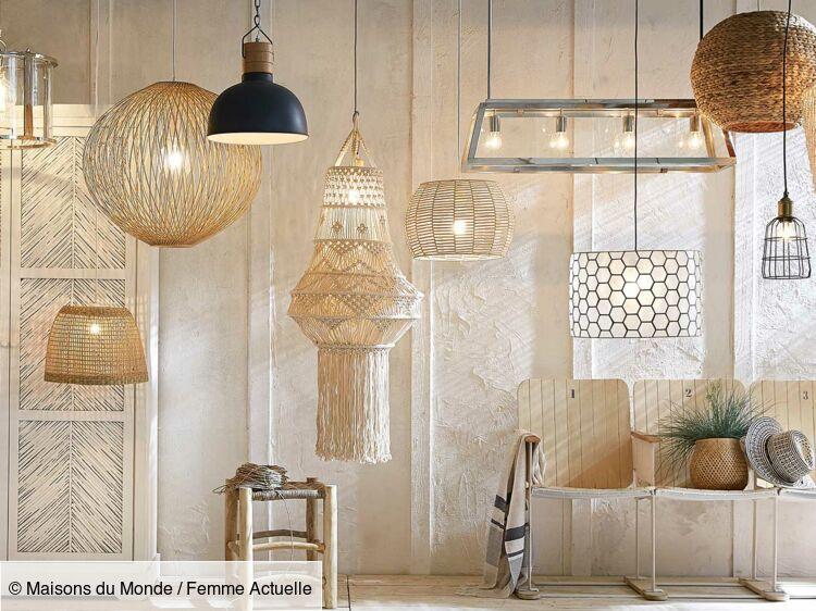 Maisons du Monde : la nouvelle collection de luminaires ...