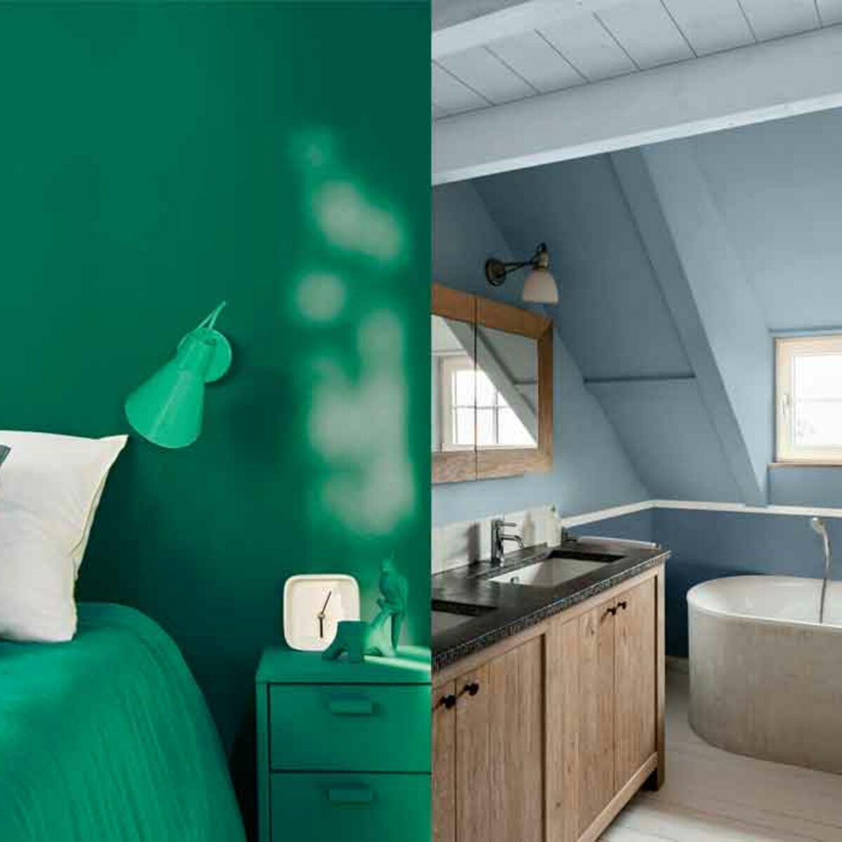 Peinture Blanc Brillant Mur Et Plafond mate ou satinée, quelle finition choisir pour sa peinture