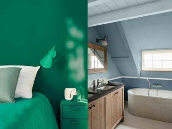 une table personnalis e avec la peinture sur assiette. Black Bedroom Furniture Sets. Home Design Ideas